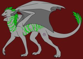 Chevere Dragon Form :o by LykenZealot