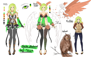 Sailor Zachriel - Reference sheet - with info! by LotusLumino