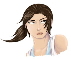 Chell by fruitsahoola