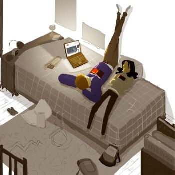 After School Studies by PascalCampion