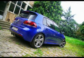 VW Golf R - 3 by rugzoo