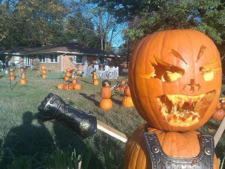 Pumpkin Monstrosity by this-is-howto