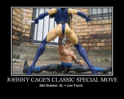 Classic Johnny Cage Move by CRCstinger
