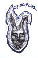 Frank the Bunny by vivel