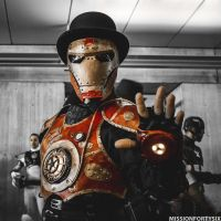Steampunk Iron Man by missionfortysix