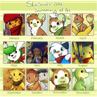 2012 Summary Of Art by Star-Swirls