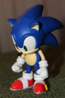 Sad Sonic Nendoroid by ViluVector
