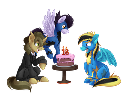 COMMISSION: Happy Birthday! by BritishStarr