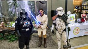 Troop at Evansville Pop Con #2 by stephen-laquire