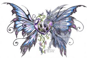 Wild Heart Tattoo design by daisyamnell