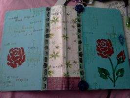Art journal by Notebook-Queen