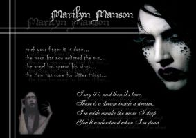 marilyn manson wallpaper by Ambix777