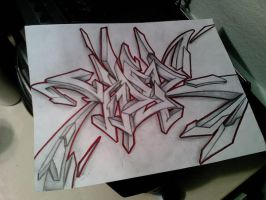 Viper Graffiti 46 SKETCH by Viper818