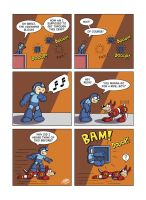 Despondent Mega Man - Fly By Night by JesseDuRona