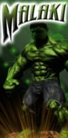 The Hulk by MalakisMarvels