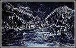 Chinese Landscape drawing by GraceDoragon