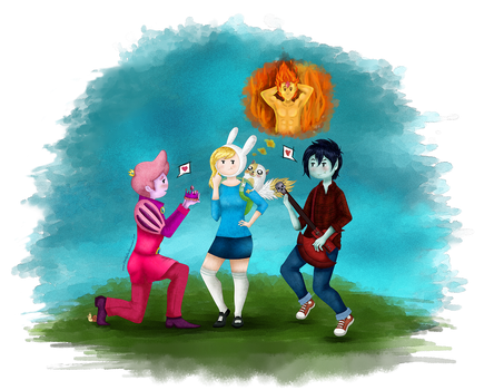 Give me a chance Fionna by DarkyLu