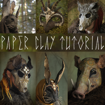 Paper Clay Tutorial UPDATED! by Nymla