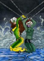 Two Rogue in Chaine by gustorak