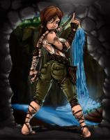 Lara Croft Tomb Raider .:REBORN:. by bigMdesign