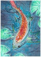 ACEO - Fish by drachenmagier