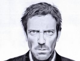 Hugh Laurie by LaRhette0