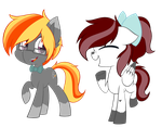 AT: Starshine Muse and Pixel Spell by JetjetJ