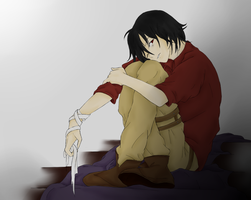 The Boy With The Broken Halo by Meru-KeepAlive