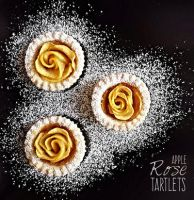 Apple Rose Tartlets by MeYaIeM