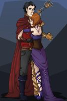 A hug for the Machine Herald by BeastQueen