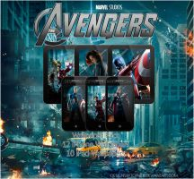 The Avengers Wallpaper Pack by DesignsByTopher