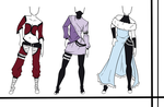Adoptables-Outfit Set 10 CLOSED by HardyDytonia