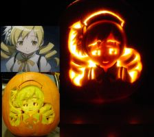 Mami Tome Pumpkin by ProfCinderwood