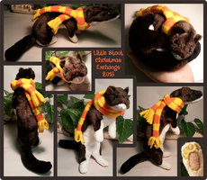 Stoat Xmas Exchange 2016 by FoamWoods