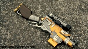 Custom Borderlands Themed Nerf Slingfire by JohnsonArms