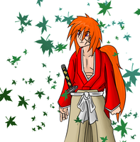 Kenshin for Spongy-Cakes411 by Mr-Sage