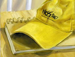 Nate's Old Yellow Hat by natebarnes