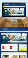RF Management Home Page Design by vennerconcept