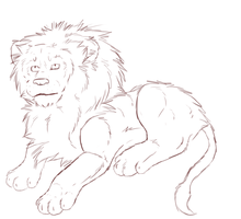 Lion Wip by crxzyduck