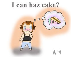 CAD23-Cake Plz? by wurpess2