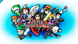 Super Smash Flashers Wallpapers by GeoExe