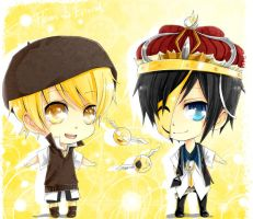 AoH : Chibi Flavus and Evieced by Shumijin