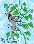 Donkey Puns Series: Jackass and the Beanstalk by MatthewHunter