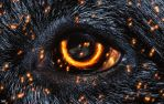 Burning Eye by B-O-K-E