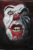 Chuckles the Clown is Undead by jeffjanelle