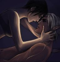 Dragon Age 2: Hawke and Fenris 2 by Riku-Noiro