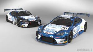 Team ICR Tricpics - Blancpain GT series by The-IC