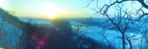Mississippi frozen under sun by chuuko