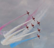 The Red Arrows 2012 by Lianne-Issa