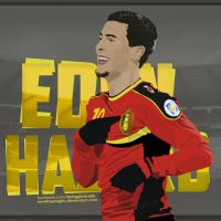 Eden Hazard  Vector by SemihAydogdu
